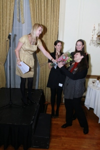 On November 27th, 2012, Maria T. was honored as the WJA Metropolitan Chapter's Shining Star-an award given to one outstanding member per chapter annually.