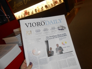 Checking out the Vioro Daily